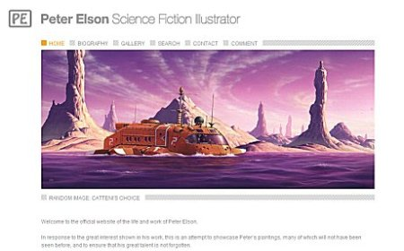 Peter Elson website