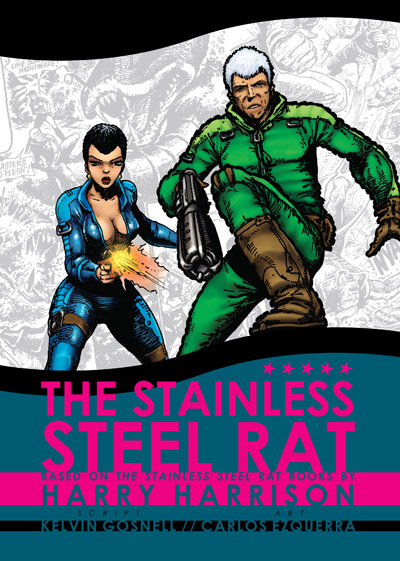 Stainless Steel Rat comic omnibus cover